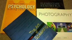 Textbooks from CCC courses