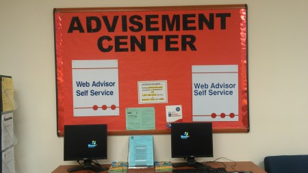 The Advisement Center awaits students wanting to register for classes. By Jasmine Conyer, CCC Journalism Program