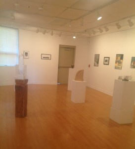 Art is on display in the Marlin Gallery in Lincoln Hall. By Keli Hall, CCC Journalism Program