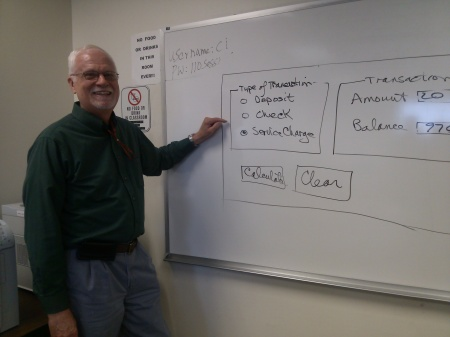 Dr. Richard Carney has taught at high schools and colleges around the area. By Vanessa Hawthorne, CCC Journalism Program