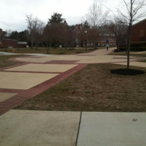 Wilson Courtyard will be the site of Spring Fling on the Blackwood campus. By Robin Hester, CCC Journalism Program
