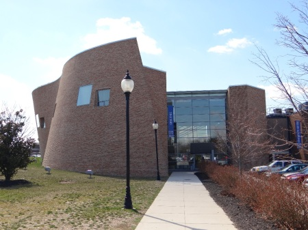 The Connector Building is home to many of the Blackwood campus's lectures and events. By Mike Poiesz, CCC Journalism Program