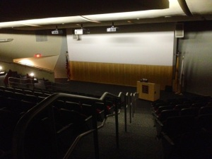 "Civic Hall is where the ""Hidden Histories of Ancient Egypt"" series will be held. By Jordan Speed, CCC Journalism Program"