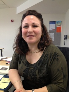 Maria Capuni has aspirations of becoming an economist after teaching Italian. By Jordan Speed, CCC Journalism Program