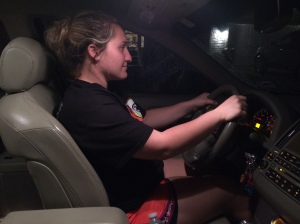 Taylor has many commitments in her life. She splits her time between her family, school, seeing her boyfriend, work, and cheerleading. Taylor commits to Drexel University, and here she is seen driving there for classes.