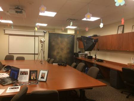 JNJ Photography is on the Blackwood campus to take graduation photos. By Anais Olusa, CCC Journalism Program