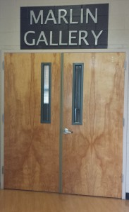 The Marlin Art Gallery is in Lincoln Hall on the Blackwood campus. By Taryn Lawlis, CCC Journalism Program.