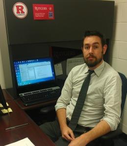 Adam Brown is academic program manager with Rutgers University-Camden. By Lacey Wallen, CCC Journalism Program
