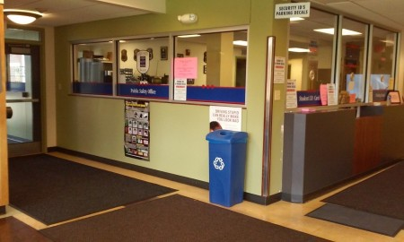 The lost and found on the Blackwood campus is at the public safety office. By Brianna Dunlap, CCC Journalism Program.