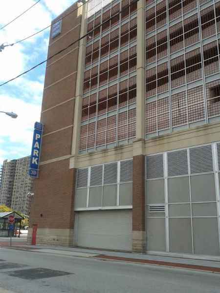 This is the parking garage for the Camden County College Camden City campus. By Briana Robinson, CCC Journalism Program.
