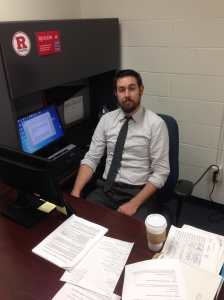Adam Brown is academic program manager for Rutgers-Camden. By Kevin Boyle, CCC Journalism Program.