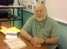 Professor Robert Lorenzi will teach Shakespeare's Ghost. Photo courtesy of www.burlingtoncountytimes.com.