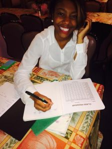 Dana Rice is in her third semester at Camden County College. By Jasmine Bradley, CCC Journalism Program.