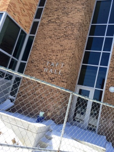 Taft Hall is slated to become a one-stop student service center. By Kelsea Woodley, CCC Journalism Program