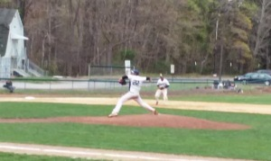 Fran DiRubbo throws a pitch