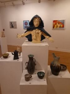 Pottery and Sculpture by Students