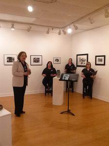 Alison Green presents Reader's Theatre, Hitman seated Right