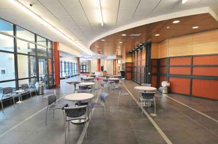 Halpern Hall has a newly renovated café. By Akenda Steward, CCC Journalism Program