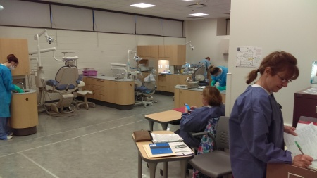 The dental assisting program recently held an orientation/information session. By Samuel Smith, CCC Journalism Program