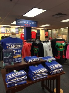 Ugly apparel is on sale at the Camden County College Bookstore. By Analisa Simpson, CCC Journalism Program