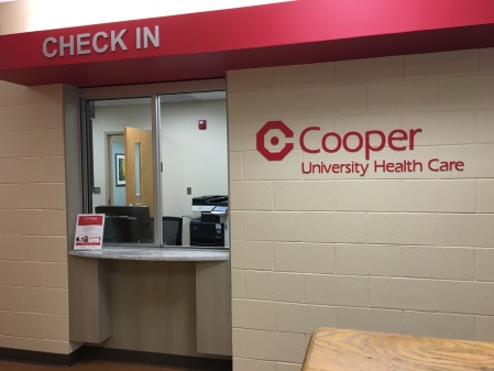 The Cooper medical practice is in Polk Hall. By Christopher Smith, CCC Journalism Program