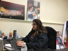 Yarissa Reyes works at the Food Bank of South Jersey. By Tyrone C. Richardson Jr., CCC Journalism Program