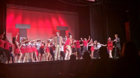 "Mainstage actors perform ""Legally Blonde"" at Camden County College. By Michael Semple, CCC Journalism Program"